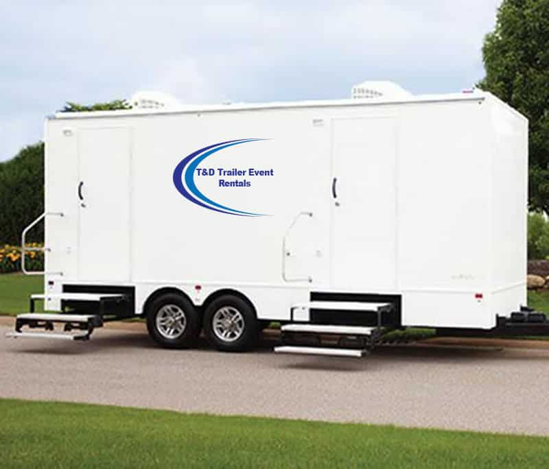 Luxury Restrooms Trailer Rental | Major Event Trailer Rental