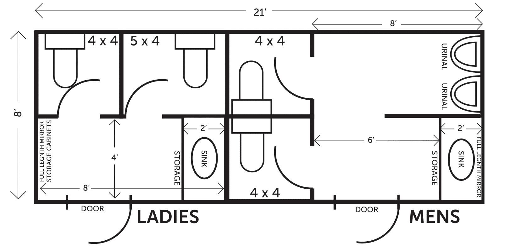 luxury-4unit-restroom-trailer