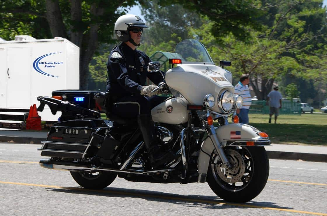 Police Motor Cycle Security Services | T&D Major Event Rentals